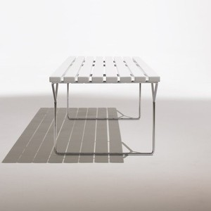 Knoll | Bertoia Bench - modern - benches - by YLiving.com