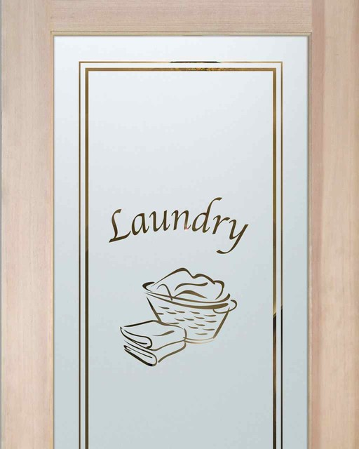 Laundry room doors laundry basket eclectic interior for Laundry external doors