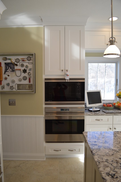 Painted & Patterned Kitchen traditional-kitchen