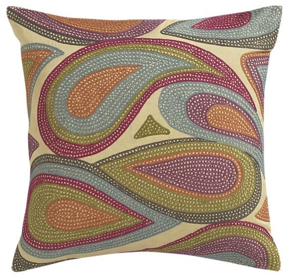 Lucy 18 Pillow | Crate&Barrel contemporary pillows