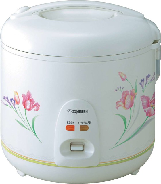 Zojirushi NS-RNC18 Automatic Rice Cooker and Warmer, 10 cup contemporary-specialty-kitchen-electrics