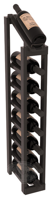 1 Column 8 Row Display Top Kit in Pine, Black Stain + Satin Finish contemporary-wine-racks