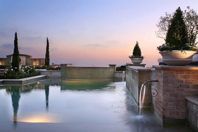 AMS Landscape Design Studios, Inc. traditional-pool