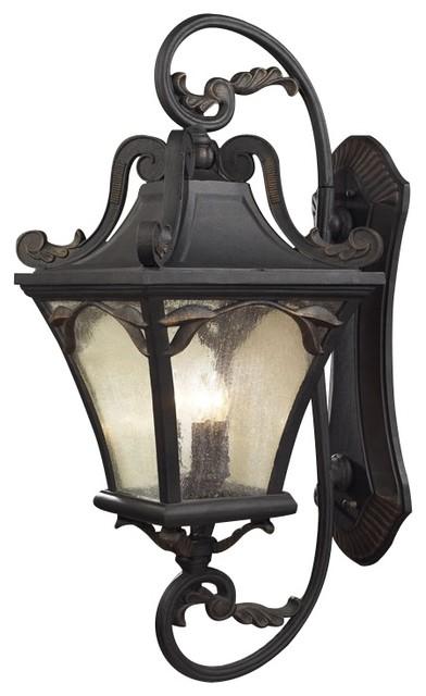 "Hampton Park 41"" High Outdoor Wall Light traditional-outdoor-lighting"
