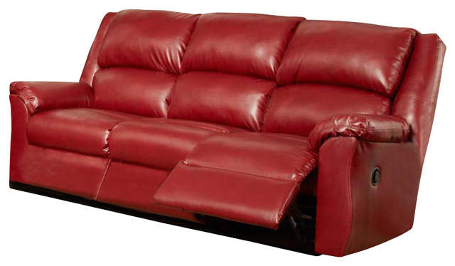 Chelsea Home Arundel Reclining Sofa In Sierra Red Traditional Sofas By Beyond Stores