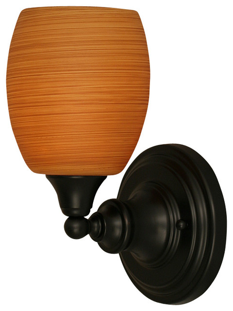 Toltec 40-MB-625 Wall Sconce Shown in Matte Black Finish transitional-wall-lighting