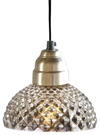 Antique Glass Honeycomb Lamp traditional pendant lighting