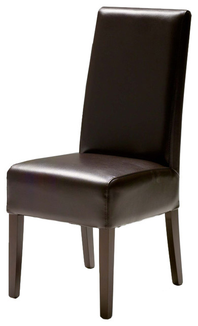 Viola Leather Dining Chair transitional-dining-chairs