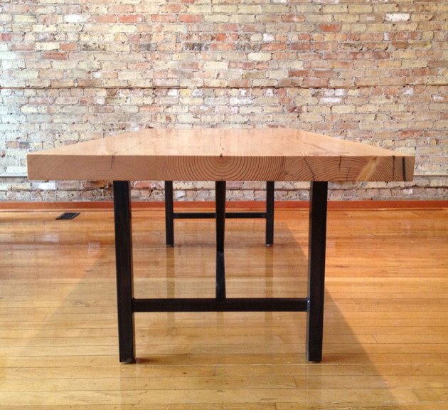 Timber Dining Table Dining Tables Chicago By Sagen