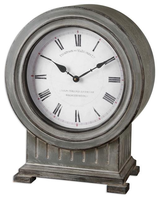 Chouteau Mantel Clock traditional-desk-and-mantel-clocks