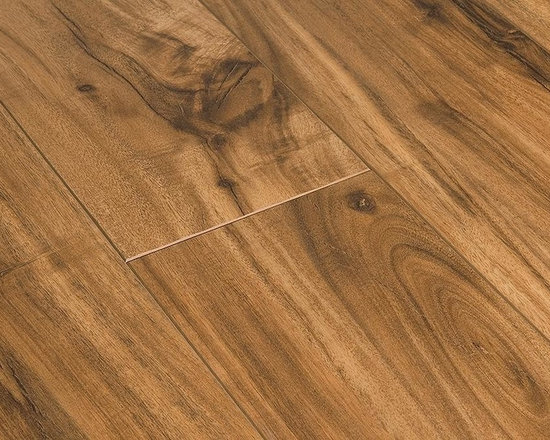 """Toklo - Toklo Laminate - 12mm Acacia Collection - [12.9 sq ft/box] - Natural Acacia -  This 12 mm laminate flooring from Toklo is a first-quality, high-end, AC3 Rated, CARB-ATCM - Phase 1 compliant in CA, HDF core flooring. The embossed in registered finish on the acacia products is a manufacturing process that intensifies the depth, texture and adds to the realistic look of the floor by aligning the embossing with the printed design.     The boards in the Acacia collection are random length. On average, each box will contain 10 pieces as follows; 3 15 3/4"""" length, 3 31 1/2"""" length and 4 47 3/4"""" length.     The drop lock locking system allows for ease of installation without using glue and can be installed over radiant heat; on, above or below ground. This laminate flooring is suitable for residential and light commercial applications and comes with a lifetime residential warranty and 5 year commercial warranty."""
