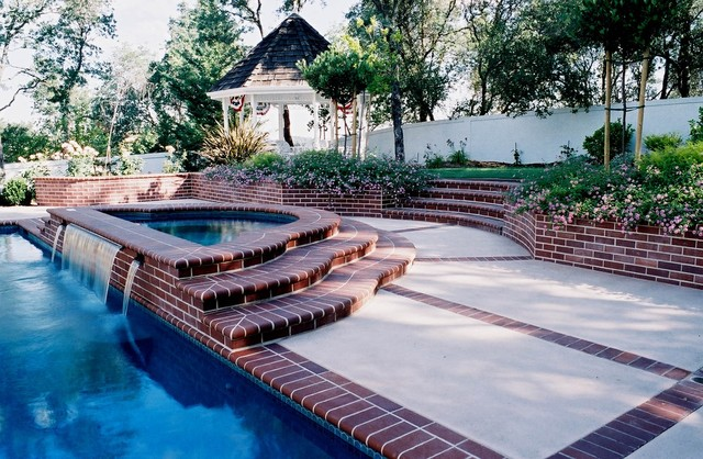 Pool Scapes and Standard Sheeting Waterfalls swimming-pools-and-spas