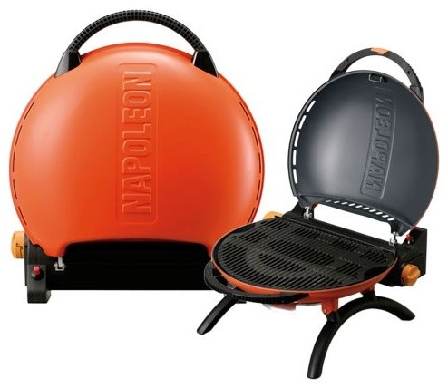 Napoleon Travel Q Portable Gas Grill-Propane traditional-outdoor-products