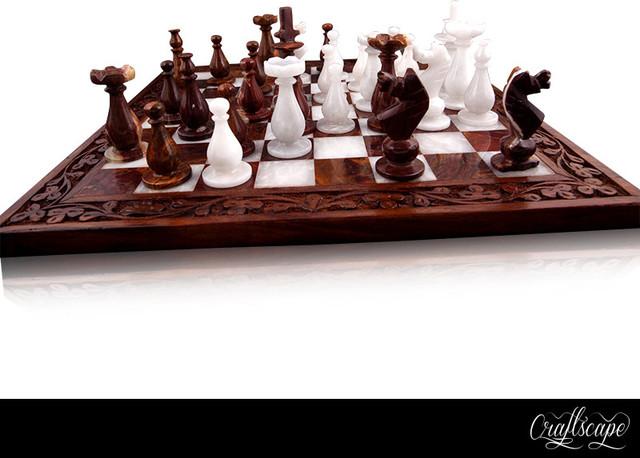 Handmade Chess Board traditional