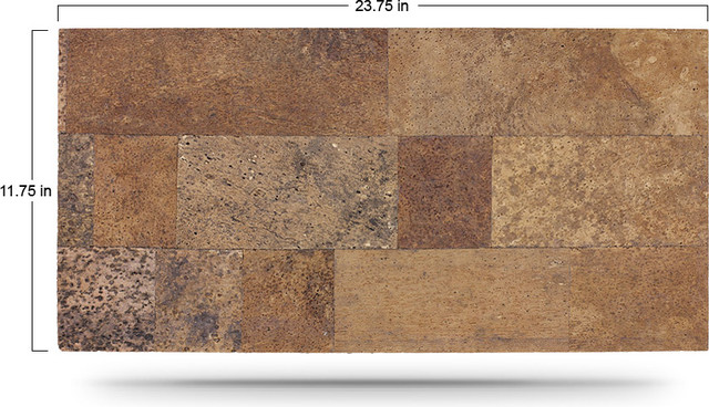 Designer cork wall tiles contemporary artwork san for Cork flooring on walls
