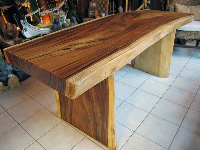 natural edge dining table or office desk 32 x 6 39 7 x 31