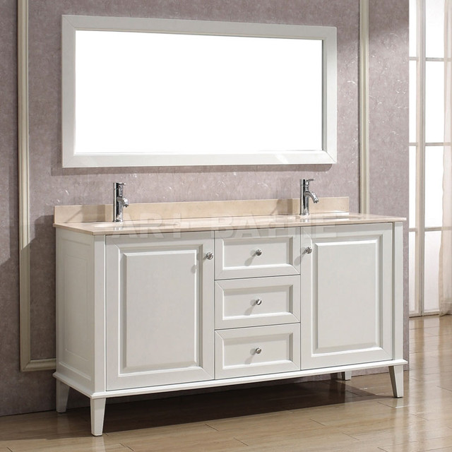 White bathroom vanities miami by vanities for bathrooms - Guide on bathroom vanities designs ...