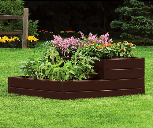 Tiered Contemporary Urban Garden: Suncast Tiered Raised Garden Bed