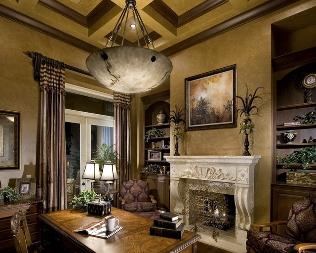 Rey Hernandez Interior Design Study - mediterranean - home office - other  metro - by Rey