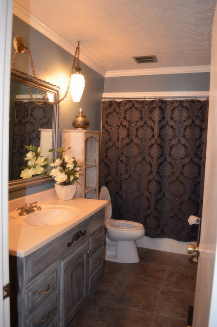 Bathroom Makeover Budget eclectic