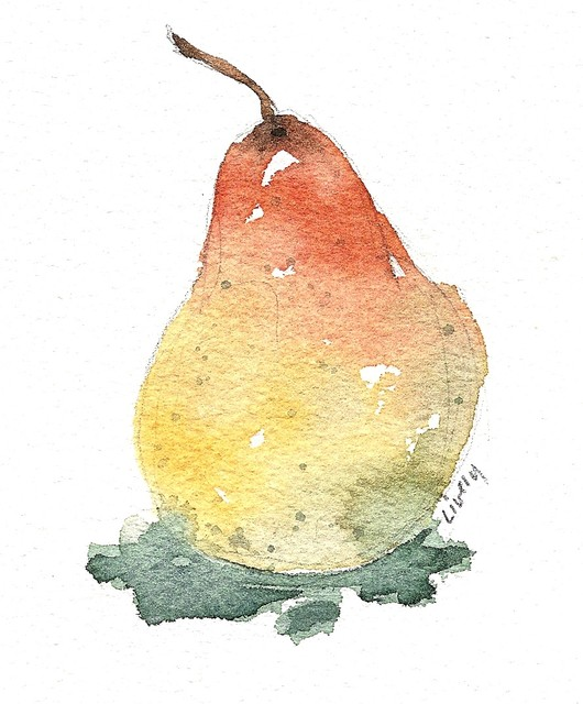 """""""Pear"""" Artwork contemporary-drawings-and-illustrations"""