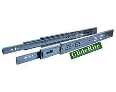GlideRite 22-inch Full Extension Soft Close Drawer Slides (Pack of 10 Pairs) -
