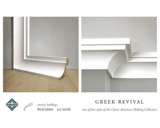 WindsorONE Greek Revival Crown Molding -