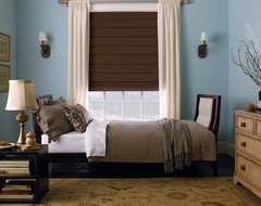 Levolor Hobbled Roman Shades traditional roman blinds