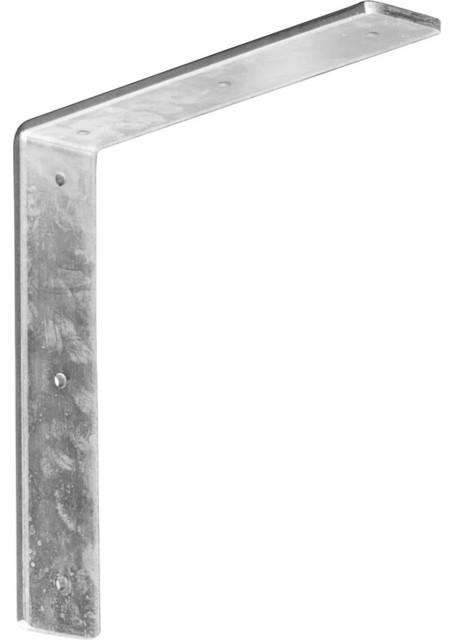 "2""W x 10""D x 10""H Hamilton Bracket, Steel traditional-home-decor"