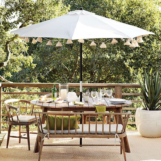 Dexter Outdoor Dining Collection Modern Outdoor Coffee Tables by West Elm