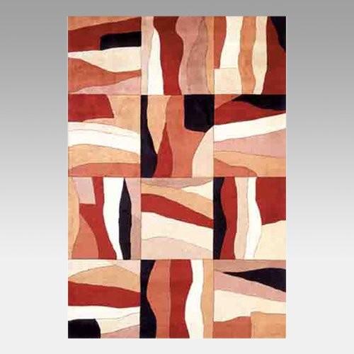 KAS Rugs Signature Earthtone Horizons Area Rug eclectic-rugs