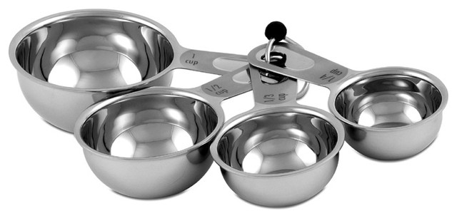 CIA 4 Piece Measuring Cup Set contemporary-measuring-cups