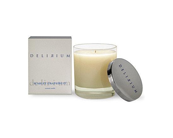 Delirium Scarlet Grapefruit Candle -
