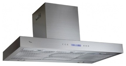 """TURIN36 36"""" Wall Mount Range Hood With 530 CFM  Full Sealed Aluminum Motor 198W contemporary-range-hoods-and-vents"""