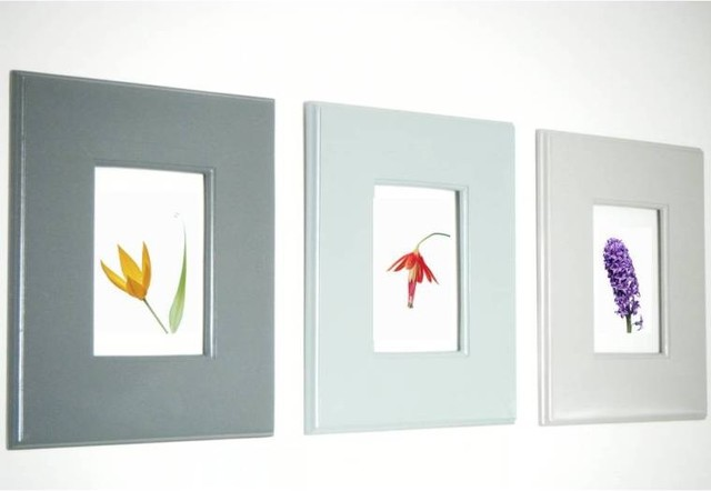 Ombre style wall hanging frames for photos and art modern picture