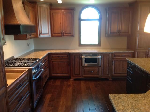 Kitchen, Dining & Living Room Remodel transitional-kitchen