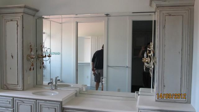 carolina home specialist traditional-bathroom-mirrors