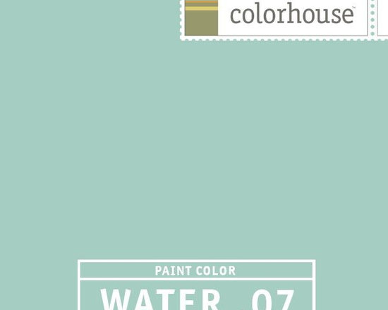 Colorhouse WATER .07 - Colorhouse WATER .07: Like a dip in the Caribbean. A mod oasis - great in kitchens and bathrooms with white trim.