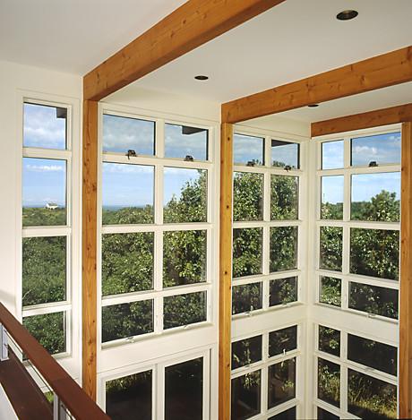 Bayside Residence, Truro MA modern-living-room