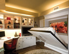 Calgary Custom Closets Murphy Bed traditional-murphy-beds