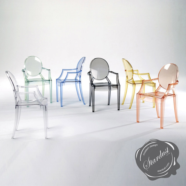 Kartell Louis Ghost Chair By Philippe Starck Armchairs And Accent Chairs