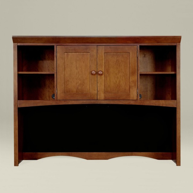 new impressions wall unit desk upper cabinet - Traditional - Storage Cabinets - by Ethan Allen
