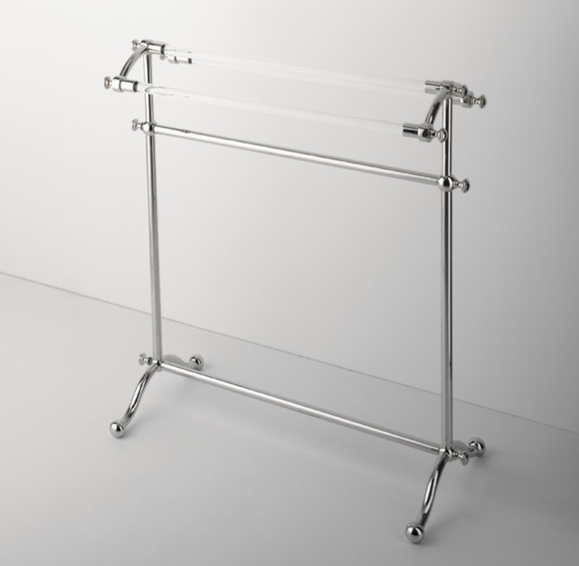 Etoile Freestanding Towel Rack traditional-towel-racks-and-stands