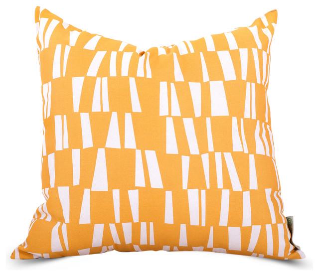 Outdoor Citrus Sticks Pillow Modern Outdoor