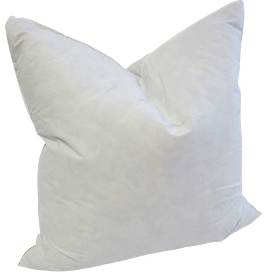 Decorative Down Pillows : High Quality Down/Feather Pillow Insert, 20