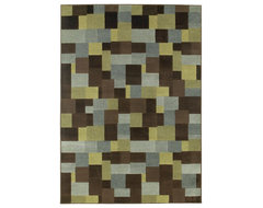 Oriental Weavers of America Anamosa Rectangular Multicolor Area Rug contemporary rugs