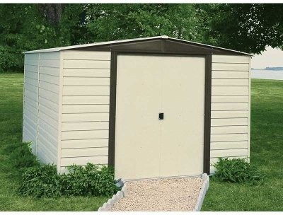 Arrow Vinyl Dallas 8 x 6 ft. Shed modern-sheds