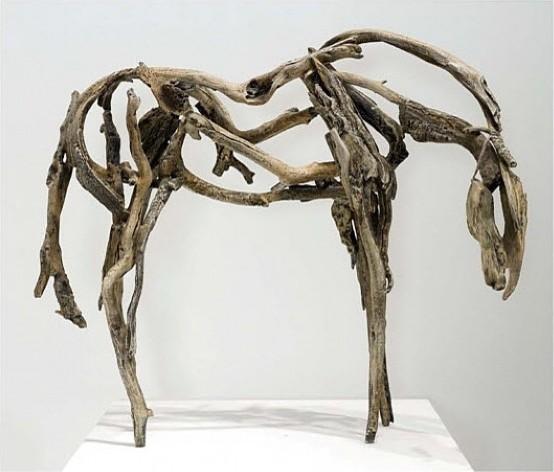 Deborah Butterfield - Horse eclectic-artwork