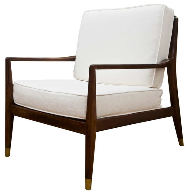 Mid Century Modern Danish Club Chair Modern Living