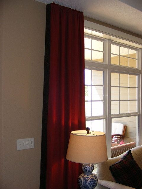 Window Treatments Designed by Michael John eclectic